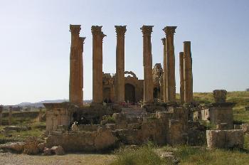 Templo de Artemisa, Jarash, Jordania