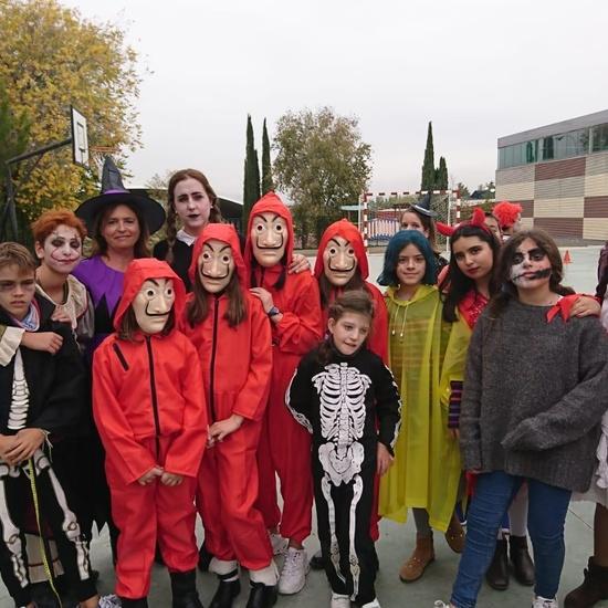 2019_11_12_6ºA disfruta preparando Halloween_CEIP FDLR_Las Rozas 1