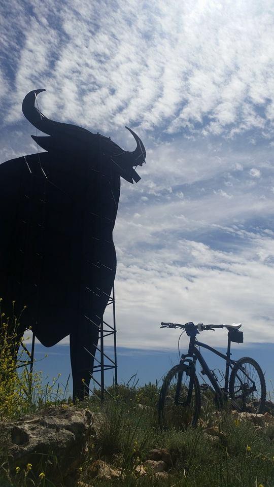 El toro y la bici