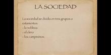 5º sociales La Reconquista. Sociedad