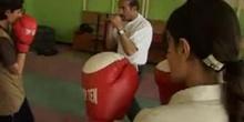 Des boxeuses en Afghanistan rêvent de renverser l'ordre établi