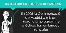 Les sections linguistiques de français - MOOC