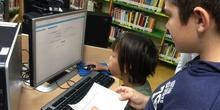 2019_Quinto B visita la biblioteca municipal_CEIP FDLR_Las Rozas 4