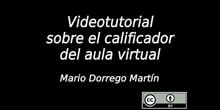 Videotutorial sobre el calificador del aula virtual