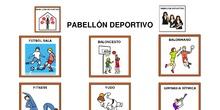 Panel de señalización - Polideportivo