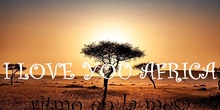 I love you África
