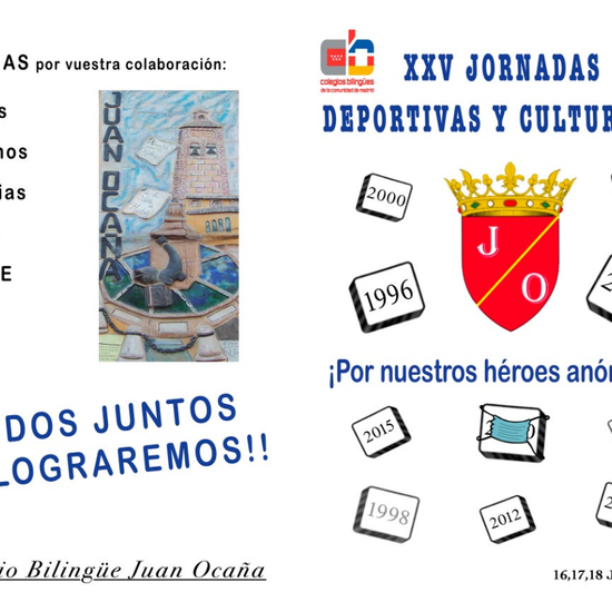 XXV JORNADAS CULTURALES  2