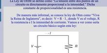 Teoría OHM. Potencia eléctrica y Efecto Joule