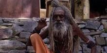 Sadhu (santón o asceta) en Ajmer, India