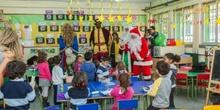 Los RRMM y Papá Noel en INF 4A 4