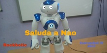 """#cervanbot 2017: """"Saluda a Nao"""" con Rockbotic (grabaciones realizadas por alumn@s)"""