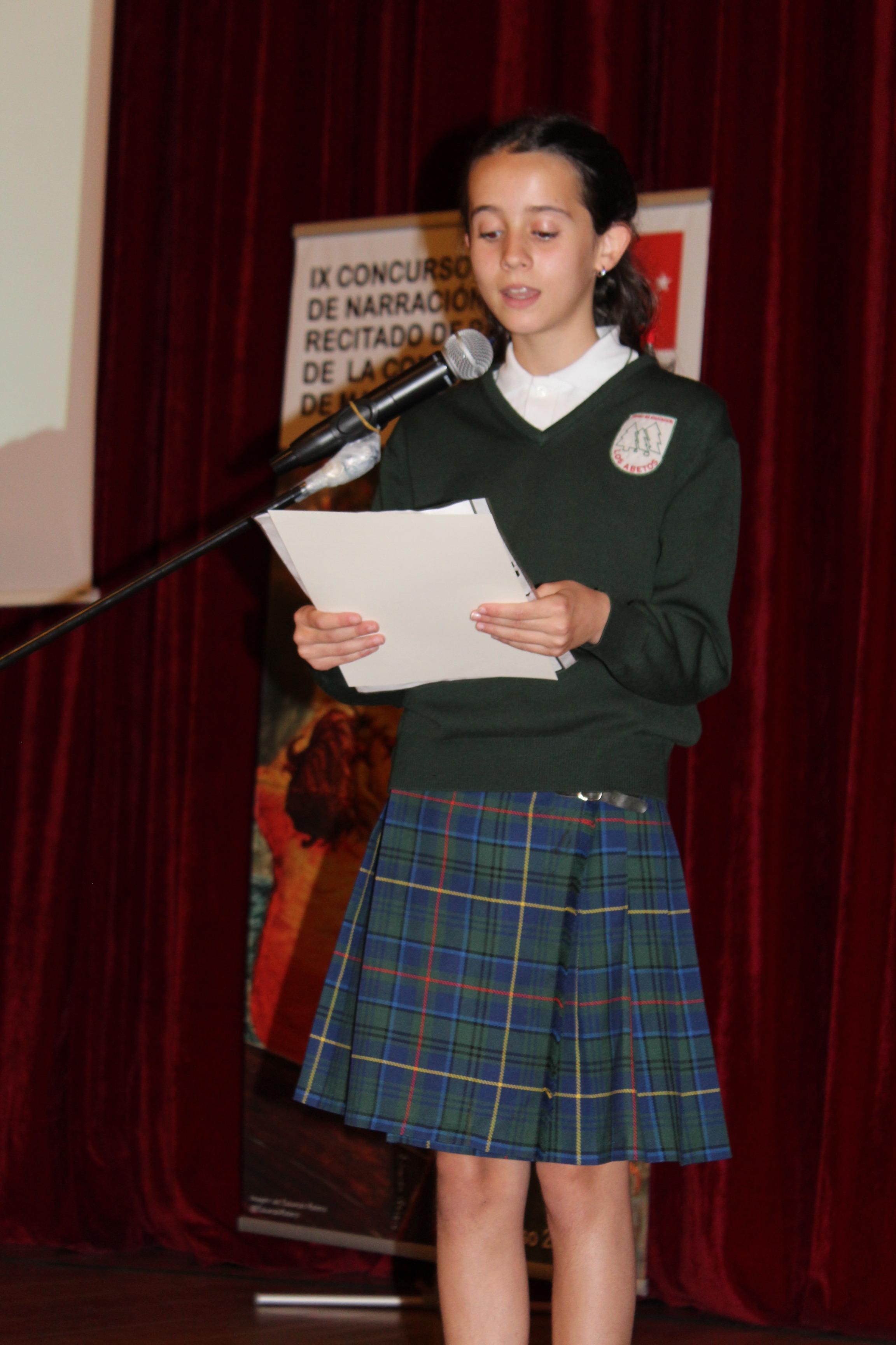 Entrega de los premios del IX Concurso de Narración y Recitado de Poesía 16