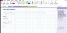 2Bto - 01 - Matrices - 09 - Potencia de matrices I
