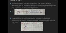 PRIMARIA - 6º - NÚMEROS PRIMOS Y DIVISORES - MATEMÁTICAS