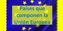 Países que componen la Unión Europea.
