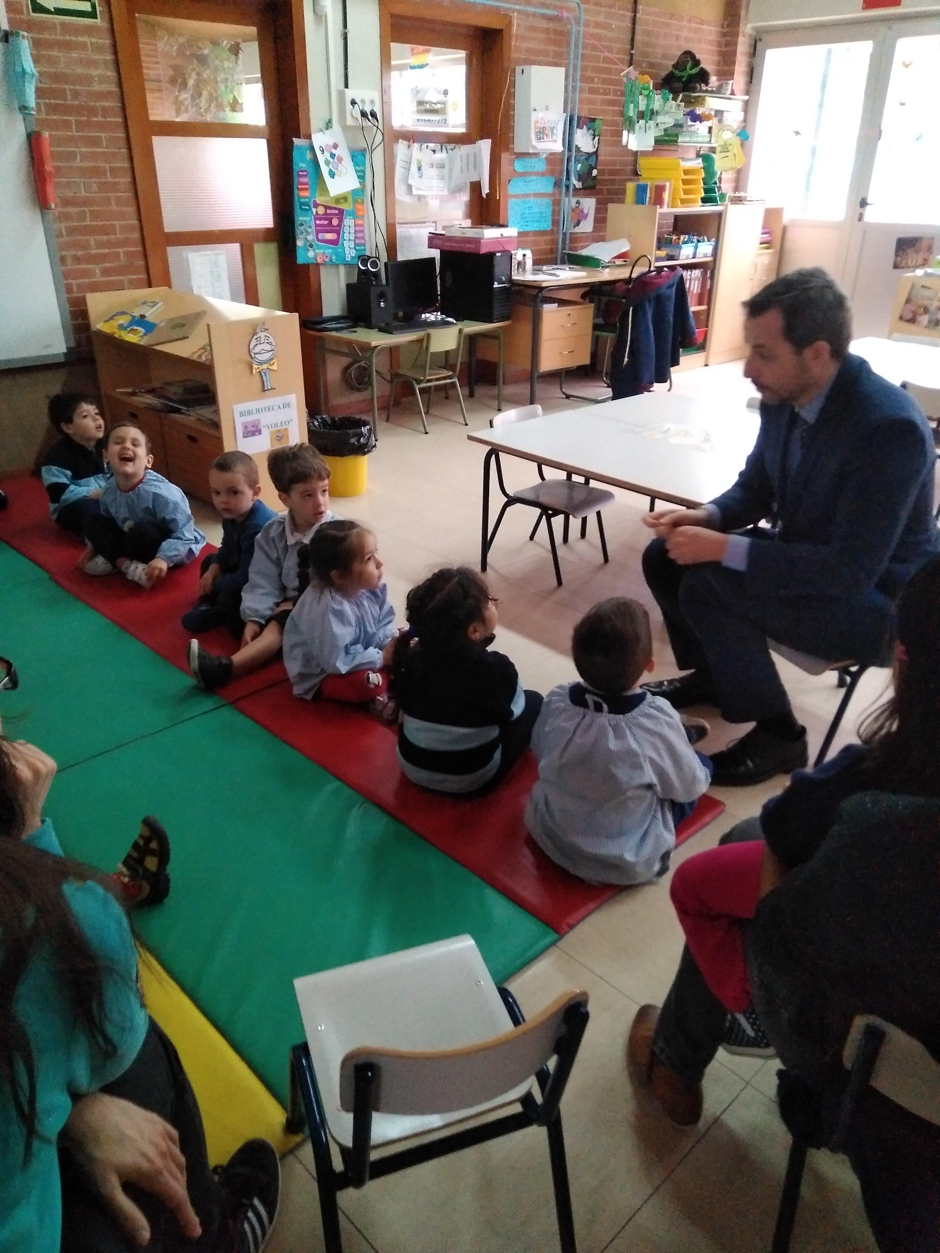 Infantil 3a_Cumpleaños YoLeo_CEIP FDLR_Las Rozas 2