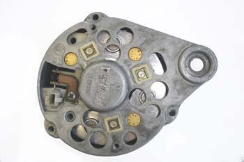 Alternador. Carcasa posterior con diodos y portaescobillas
