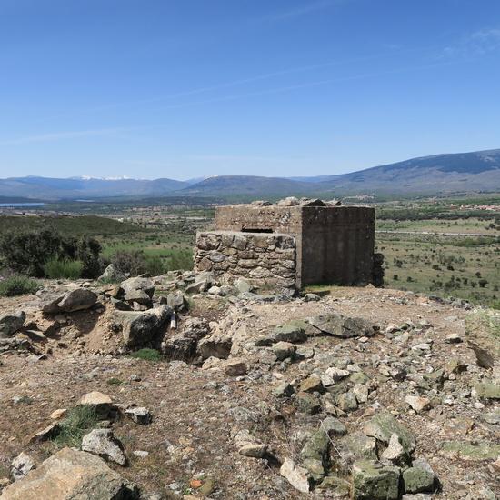Fortificaciones de la Guerra Civil en Piñuecar-Gandullas (Frente Nacional) 10