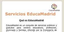 ¿Qué es EducaMadrid?