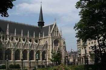 Iglesia de Notre-Dame de Sablon, Bruselas, Bélgica
