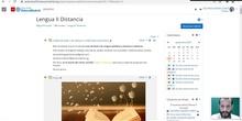 Lengua II Clase a distancia 1 - 20/09/2021