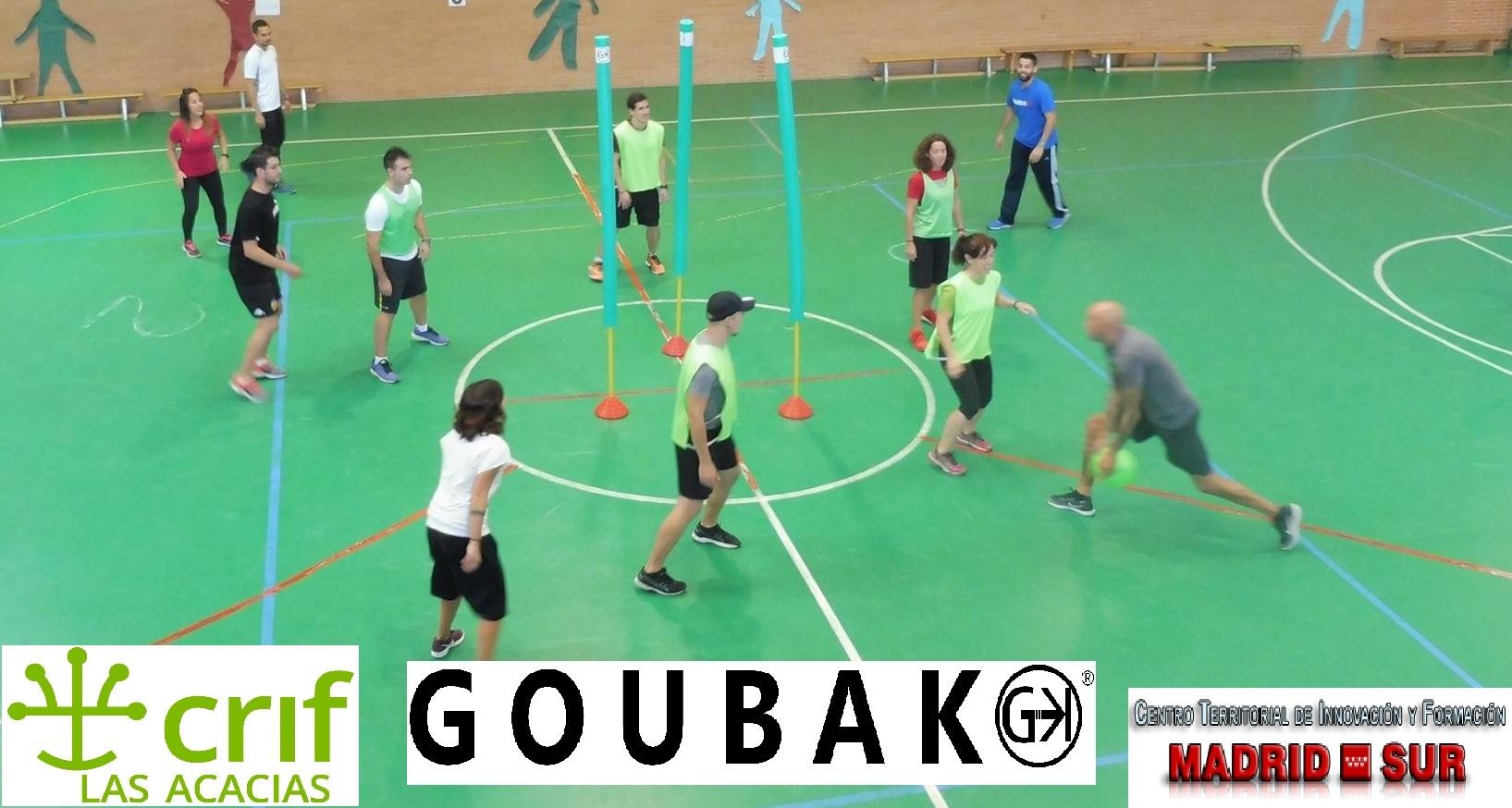 Goubak: deporte colectivo de colaboración-oposición (regulada)