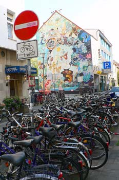 Parking de bicicletas en Muenster