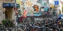 Parking de bicicletas en Muenster