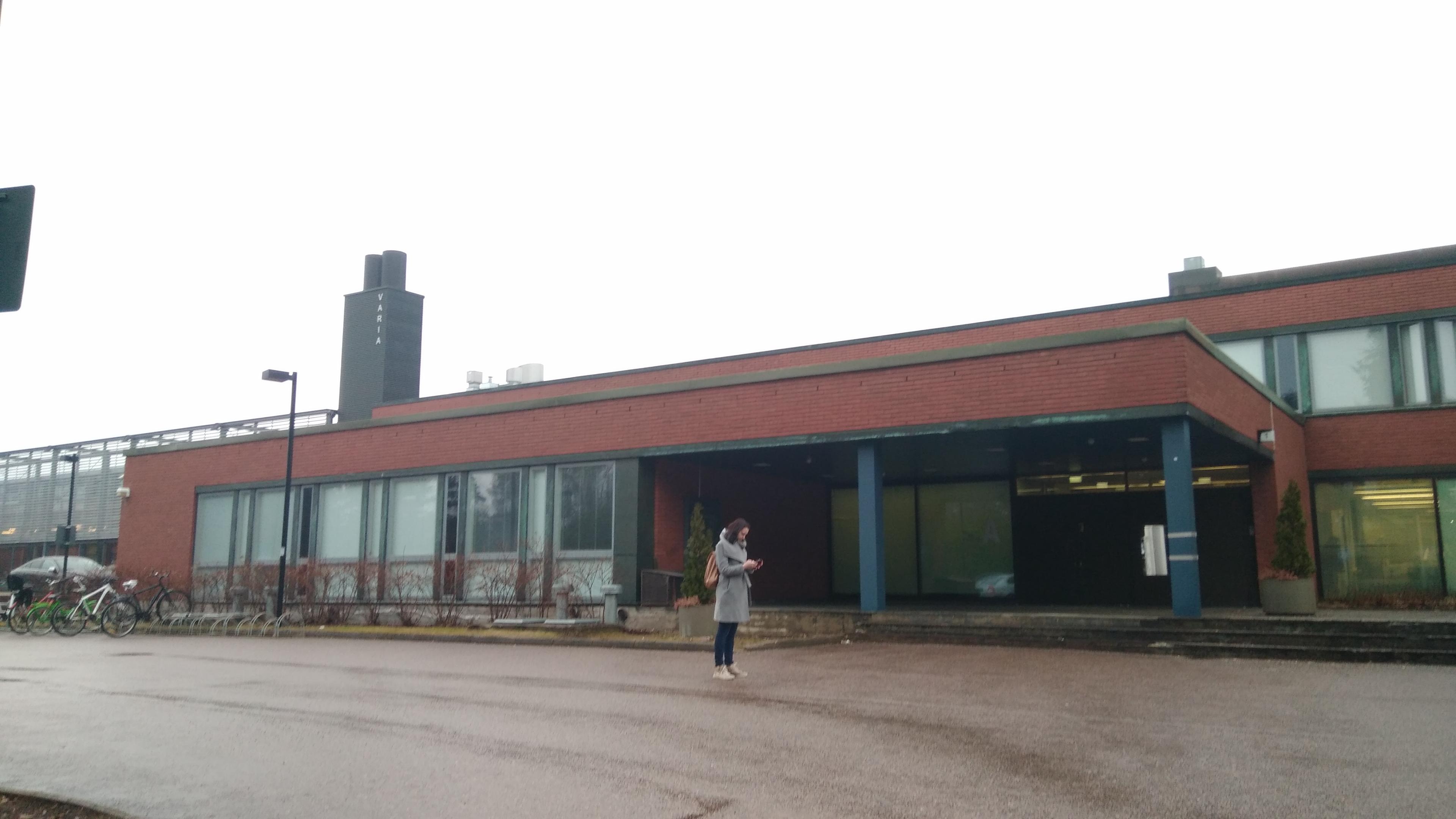 Vataan Ammattiopisto Varia. Finlandia. Erasmus +2018