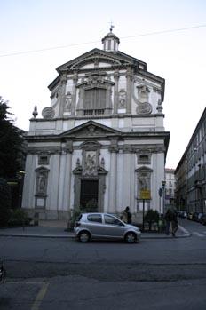 Iglesia de San Giuseppe Brera, Milán