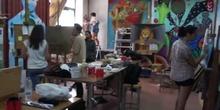 Aula de Pintura Mural