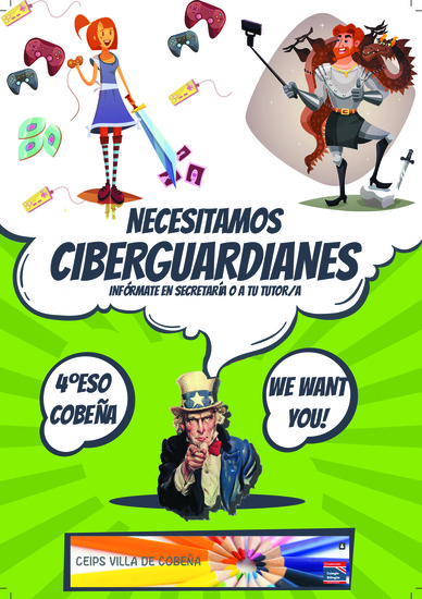 Cartel CiberGuardianes