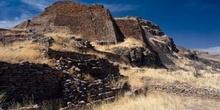 La Escalinata del conjunto Arqueológico de La Quemada, Villanuev