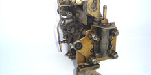 Bomba inyectora DPS. Vista salidas alta presión