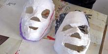 Máscaras de escayola 1