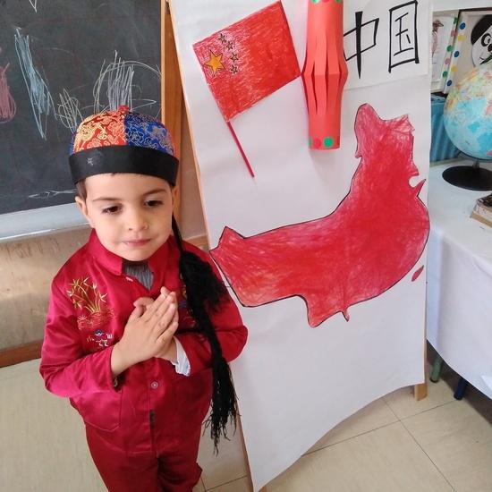 3ºb de infantil sigue de visita por China 1