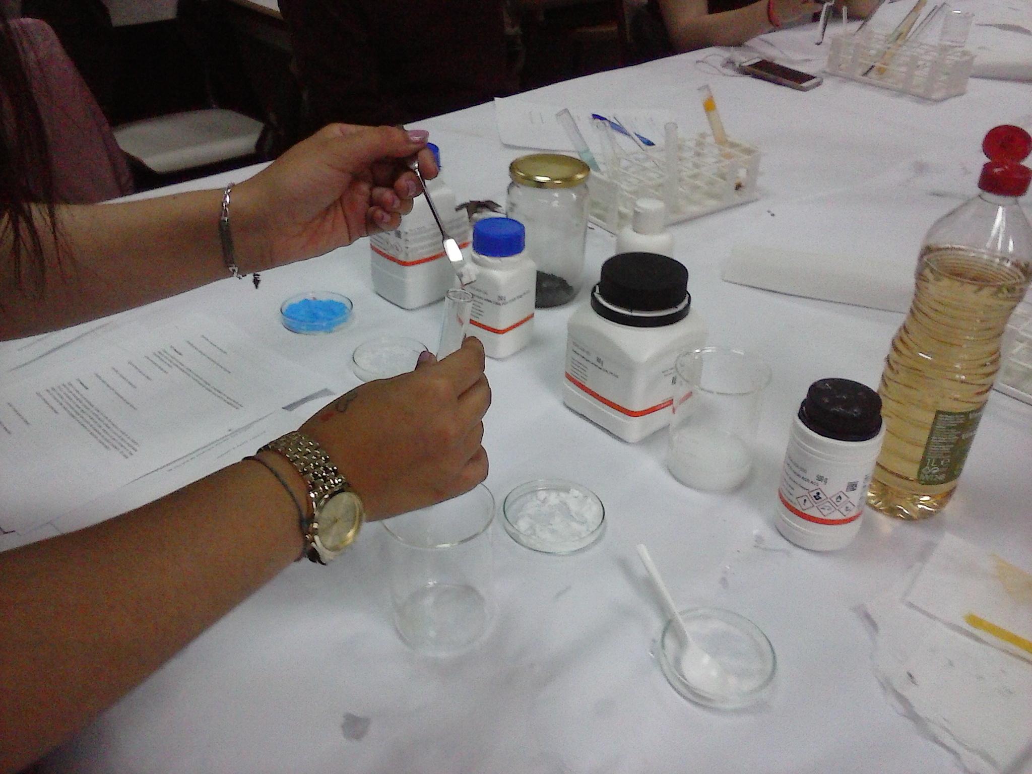 En el laboratotio 2