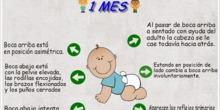 Desarrollo del bebé de 1 mes
