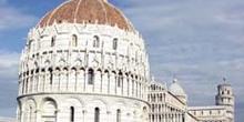Baptisterio y torre, Pisa