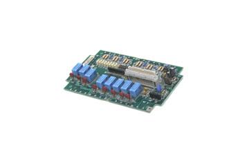 Relés de circuitos impresos montados en tarjeta de salidas