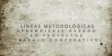 Líneas metodológicas: ABP y aprendizaje cooperativo