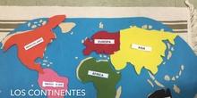 INFANTIL - 4 AÑOS A - LOS CONTINENTES