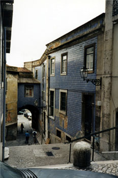 Barrio Alfama, Lisboa, Portugal