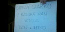 CAPITÁN GUARRO Y BASURA MAN
