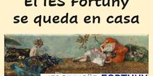 El IES Fortuny se queda en casa