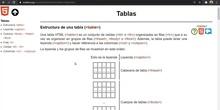 HTML Tablas