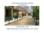 Finalidades Educativas del CEIP Fernando de los Ríos de Las Rozas de Madrid