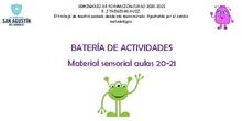 Batería de material sensorial para 0-3