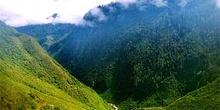 Vistas de las vías de comunicación del valle de Baliem, Irian Ja