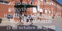 ACTO DE CLAUSURA DE LA BIENVENIDA CURSO 2018/19
